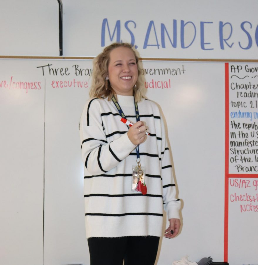 Ms. Anderson Gets Real about Pet Peeves, Fall Break, and Teaching